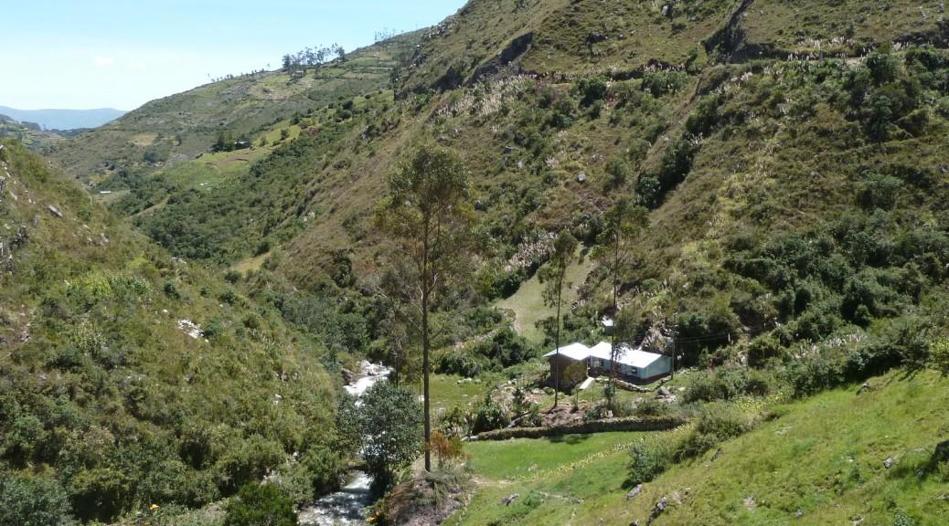 Usine microhydroélectrique dans la région de Cajamarca
