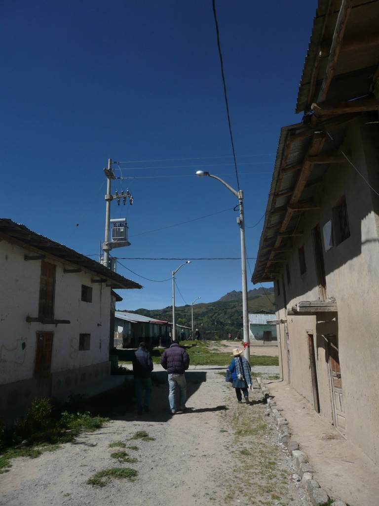 Electrification Yanacancha